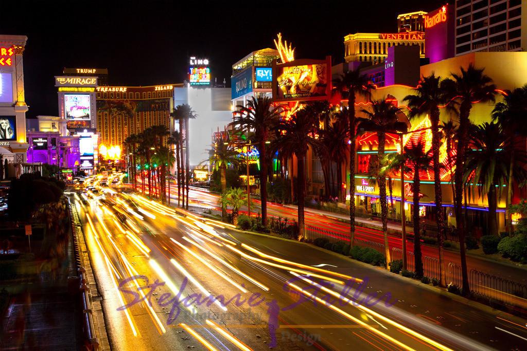 Strip by night | Lights of Las Vegas
