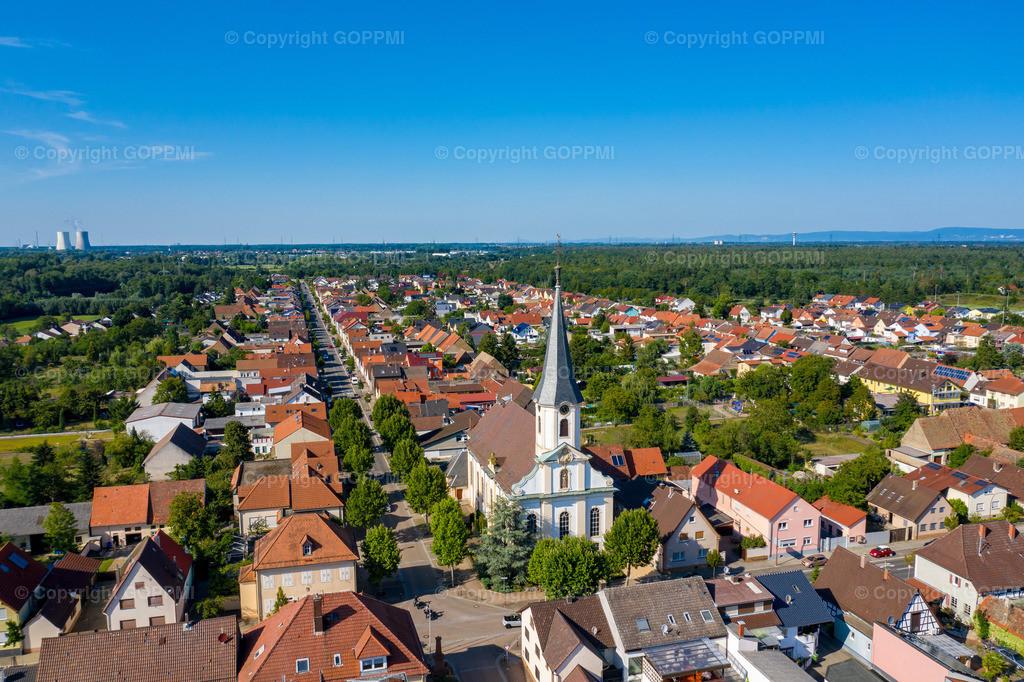 Nr. 45 Huttenheim Kirche DJI_0243