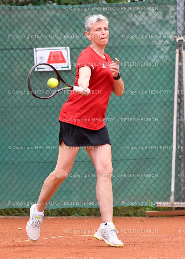 Tennis Hessische Meisterschaften Senioren SGA Darmstadt copyright by HEN-FOTO | Tennis Hessische Meisterschaften Senioren SGA Darmstadt 06.06.2021 Finale Damen 55 Sylke Heise-Teodoro TC Seeheim copyright by HEN-FOTO Peter Henrich