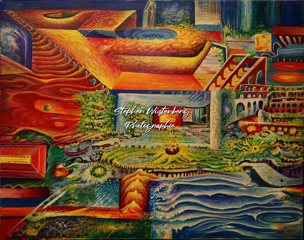 Gingel-0042 Perspektivenspiel   Roland Gingel Artwork @ Gravity Boulderhalle, Bad Kreuznach  Bilder dieser Galerie sind noch nicht im Verkauf. Wenn Sie Repros erwerben möchten, finden Sie diese in der Untergalerie
