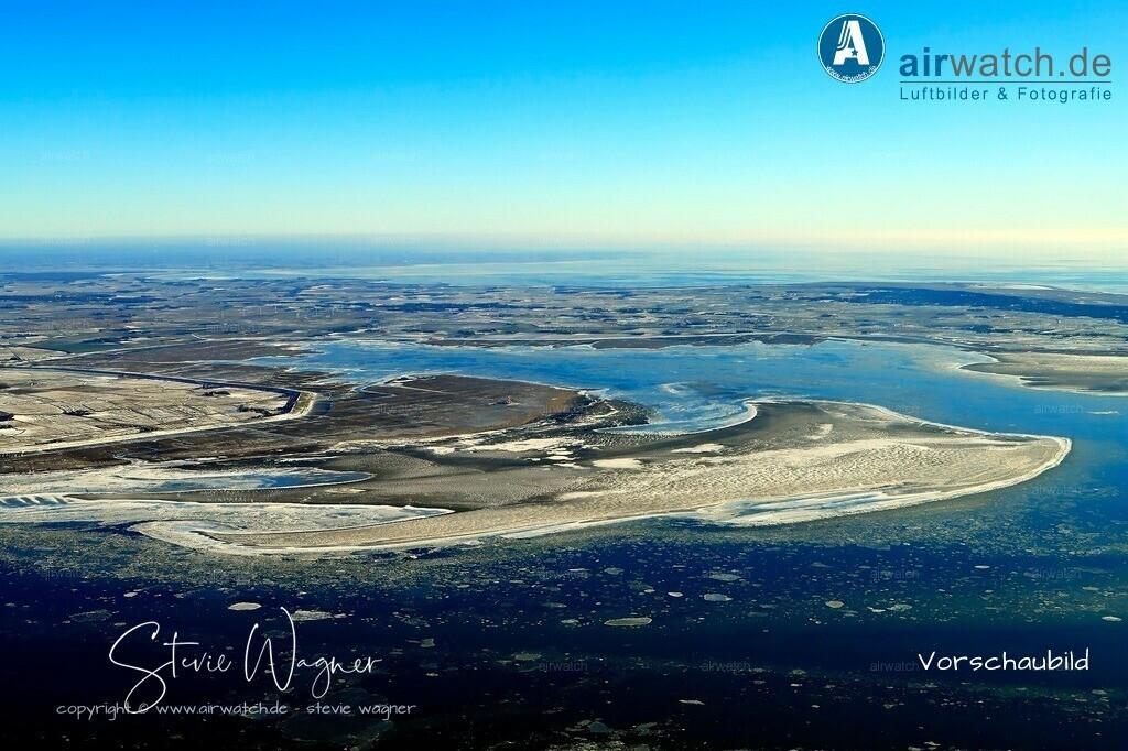 Winter Luftbilder, Nordsee, Nordfriesland, Eiderstedt, Westerhever | Winter Luftbilder, Nordsee, Nordfriesland, Eiderstedt, Westerhever