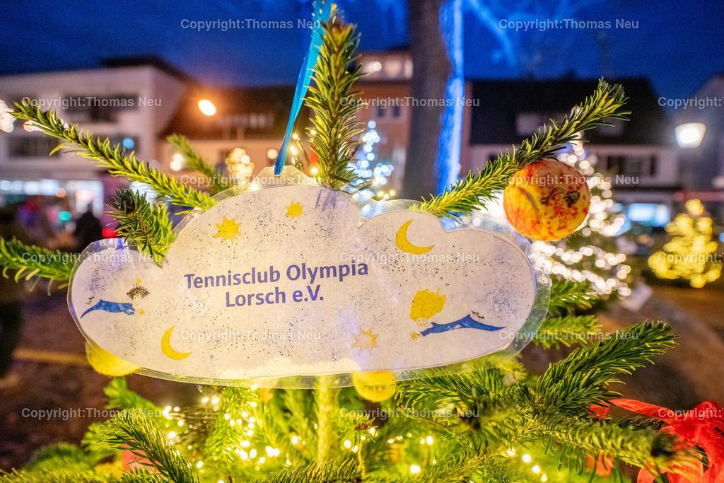DSC_4147   ble,Lorsch, blaues Weihnachtswunder, Innenstadt, ,, Bild: Thomas Neu