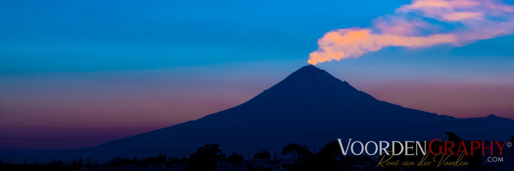 Popocatépetl Mexico (5452 m)