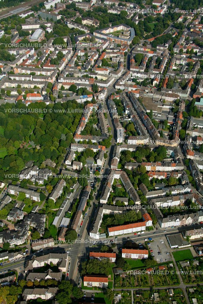ES10094253 | Frohnhauseer Strasse, Luftbild,  Essen, Ruhrgebiet, Nordrhein-Westfalen, Germany, Europa, Foto: hans@blossey.eu, 05.09.2010