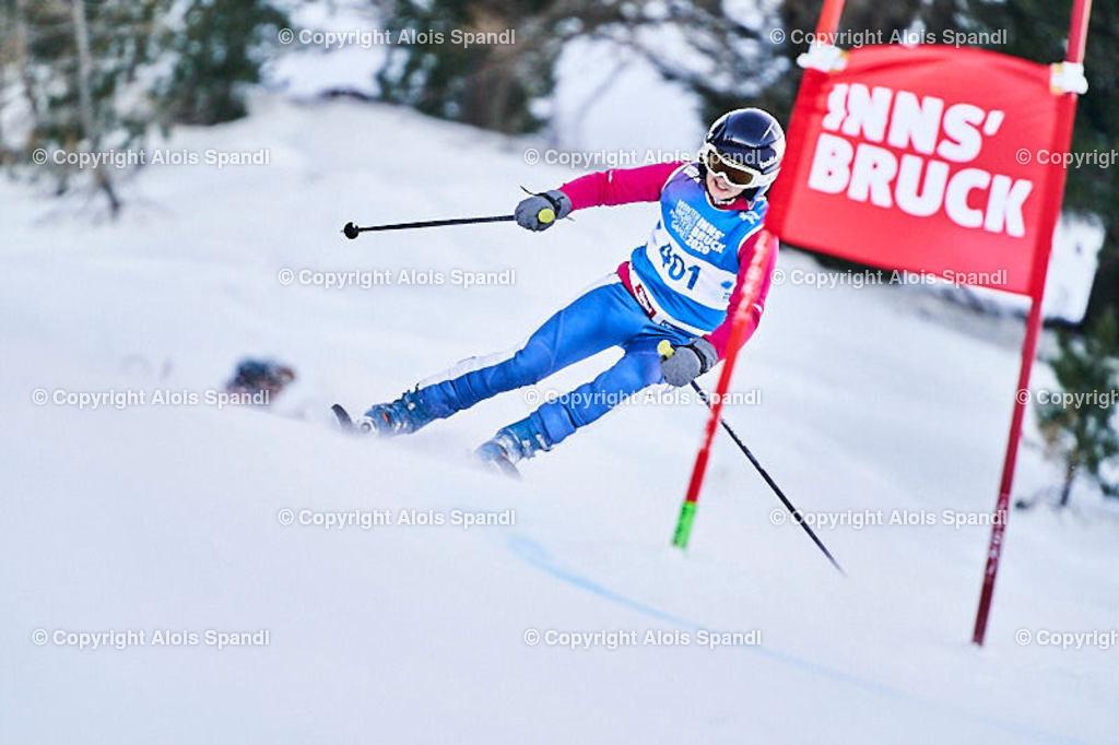 ALS5691_WWMG_GS-II_C | (C) FotoLois.com, Alois Spandl, WinterWorldMastersGames 2020 Innsbruck, Giant Slalom-II Gruppe C Damen, Patscherkofel Olympiaabfahrt, Mi 15. Jänner 2020.