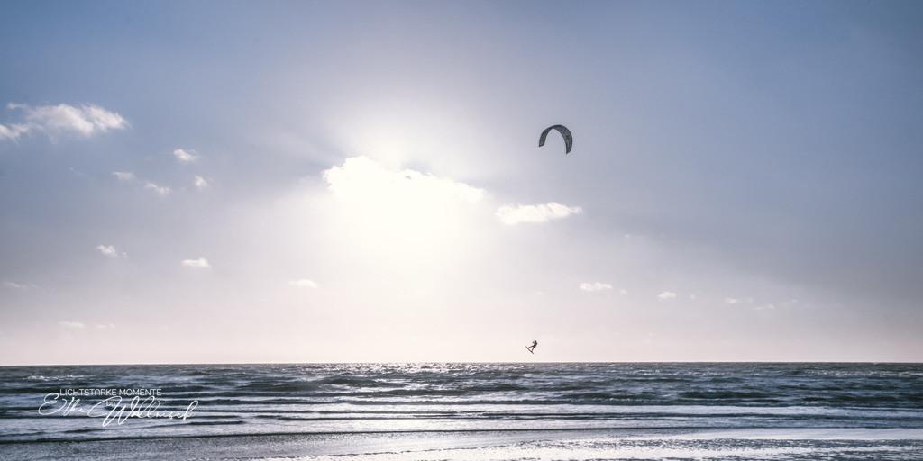 Kitesurfer im Wind | Sankt Peter-Ording