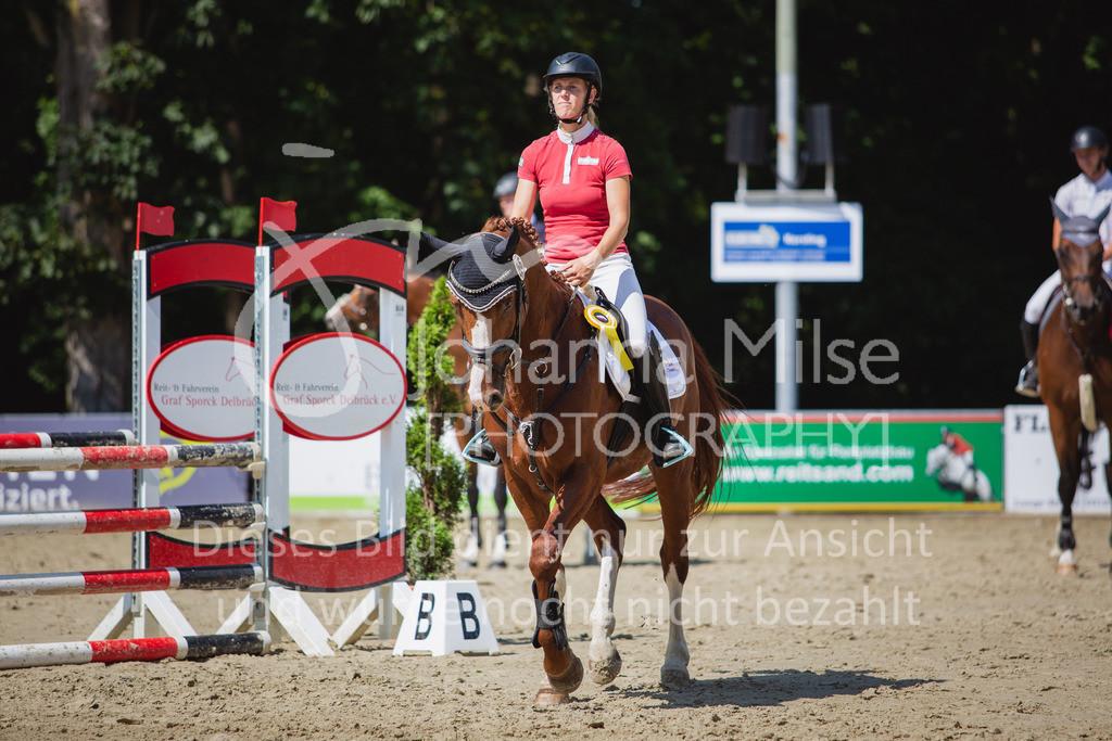 200819_Delbrück_Sprpf-A_2_1-270 | Delbrück Masters 2020 Springpferdeprüfung Kl. A** 4-6jährige Pferde