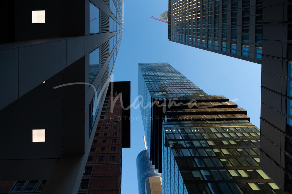 Skyline Frankfurt  | höher schneller weita