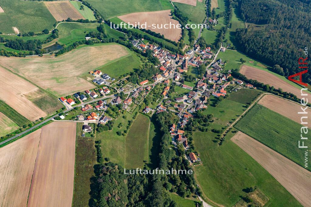 kornhoefstadt-19-772 | aktuelles Luftbild von  Kornhoefstadt - Luftaufnahme wurde 2019 von https://frankenair.de mittels Flugzeug (keine Drohne) erstellt.