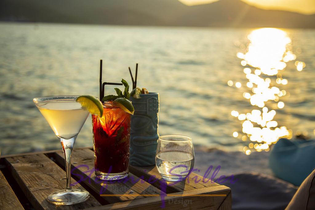 Cocktails und Sunset