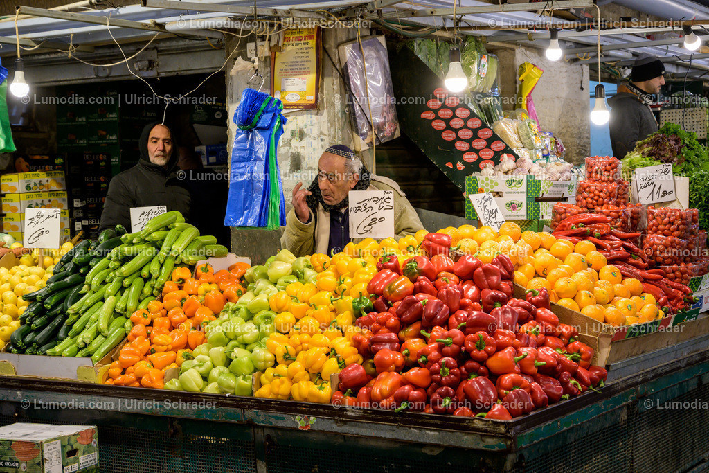 10972-10054 - Markt in Jerusalem