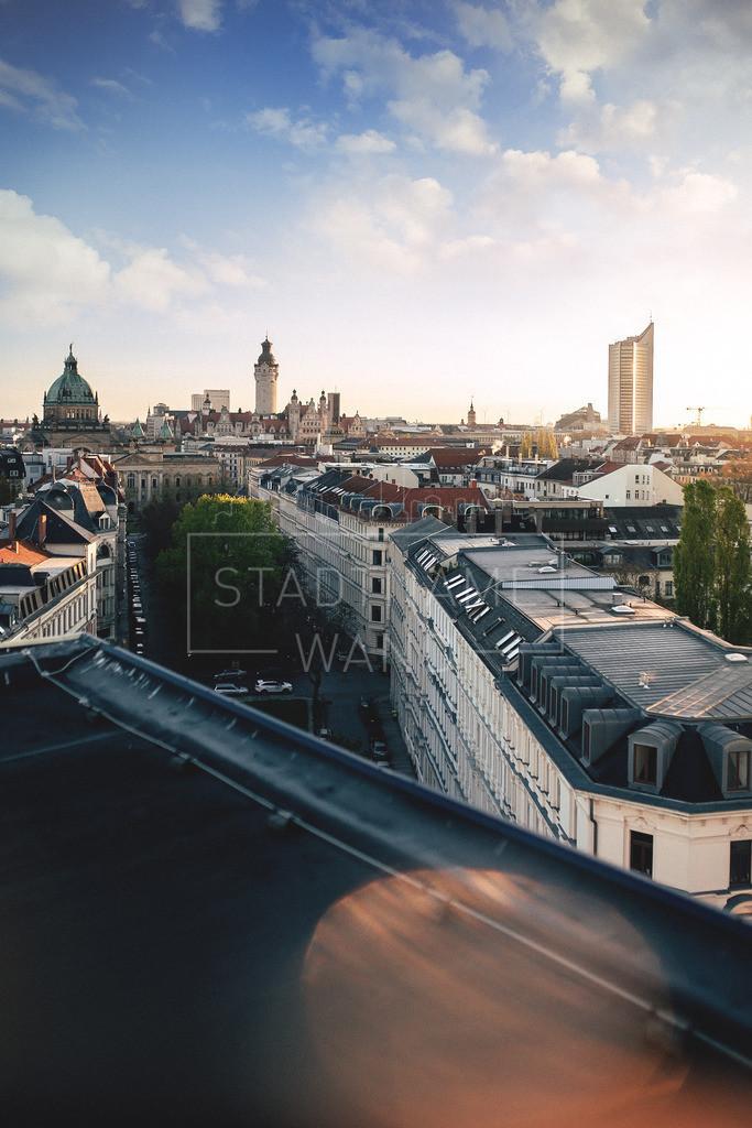 Dachpanorama Leipzig