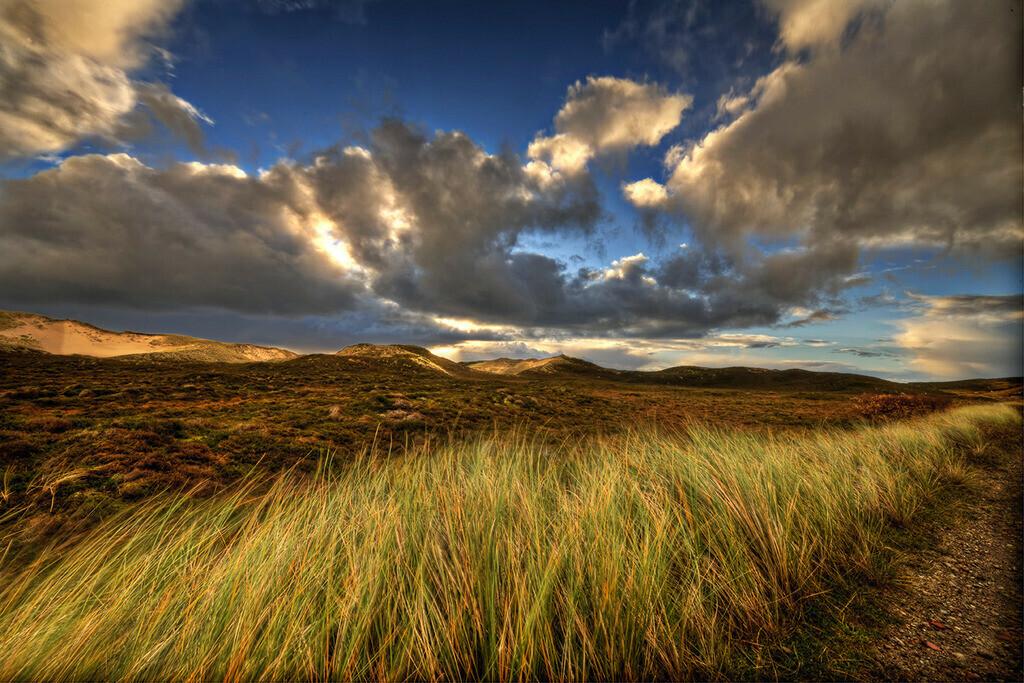 Dünenwolken | Wolken über den Dünen bei List auf Sylt