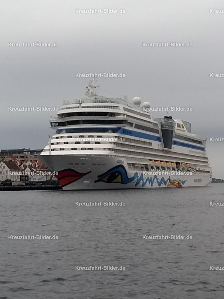 AIDAsol in Stavanger | AIDAsol im Hafen von Stavanger