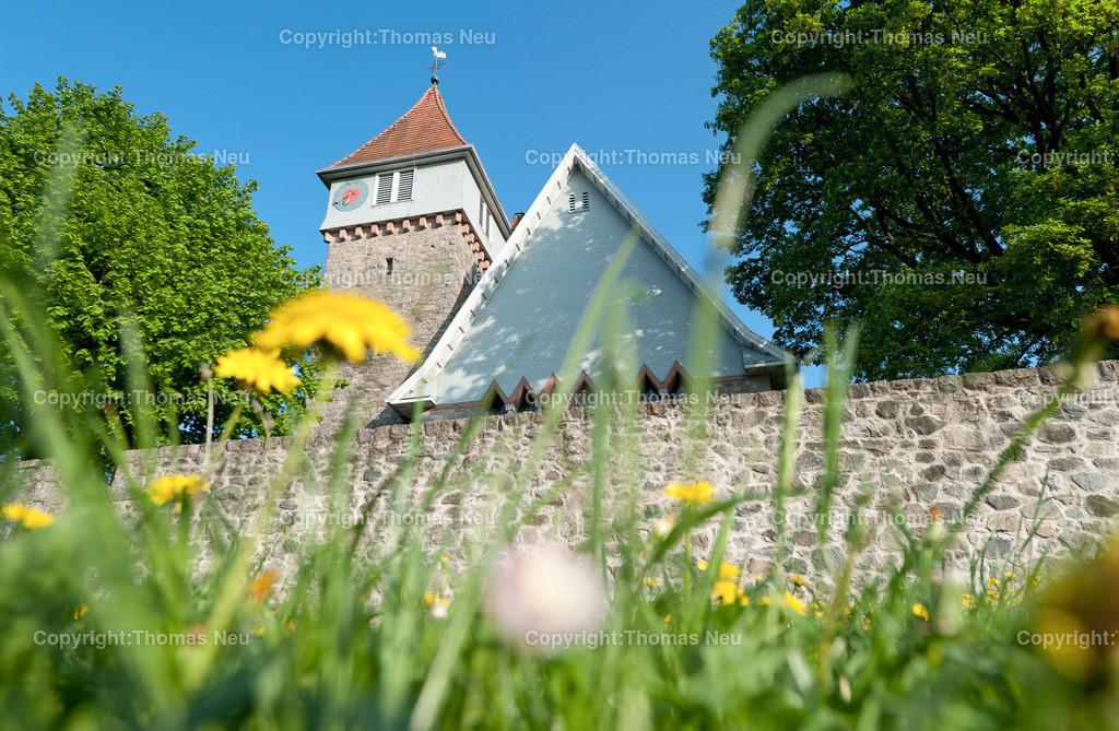 Kirche_Gadernheim-7   Lautertal, Gadernheim, Kirche, fuer Jubilaeumsbeilage, ,, Bild: Thomas Neu