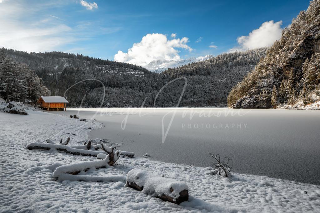 Blindsee | Am Blindsee im Winter