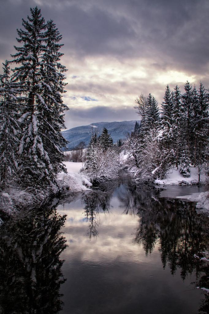 Winterspiegel | Pürgg