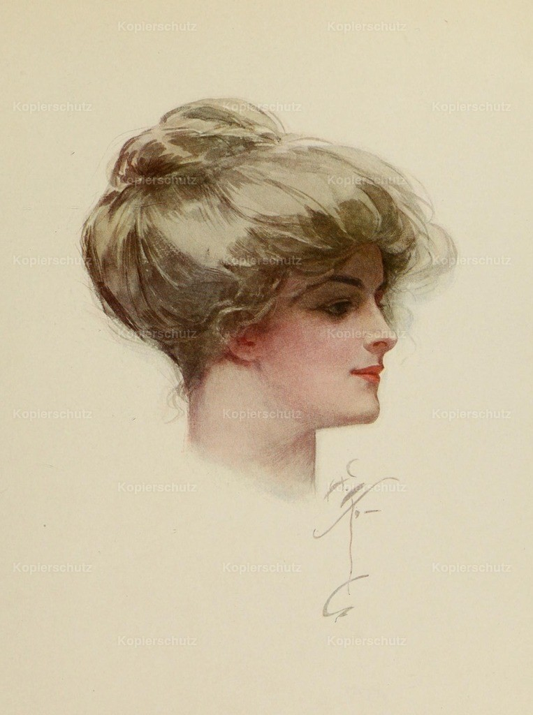 Fisher_ Harrison (1875-1934) - Fair Americans 1911 - The lady of the cover