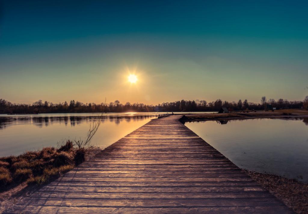 Steg_Sunset