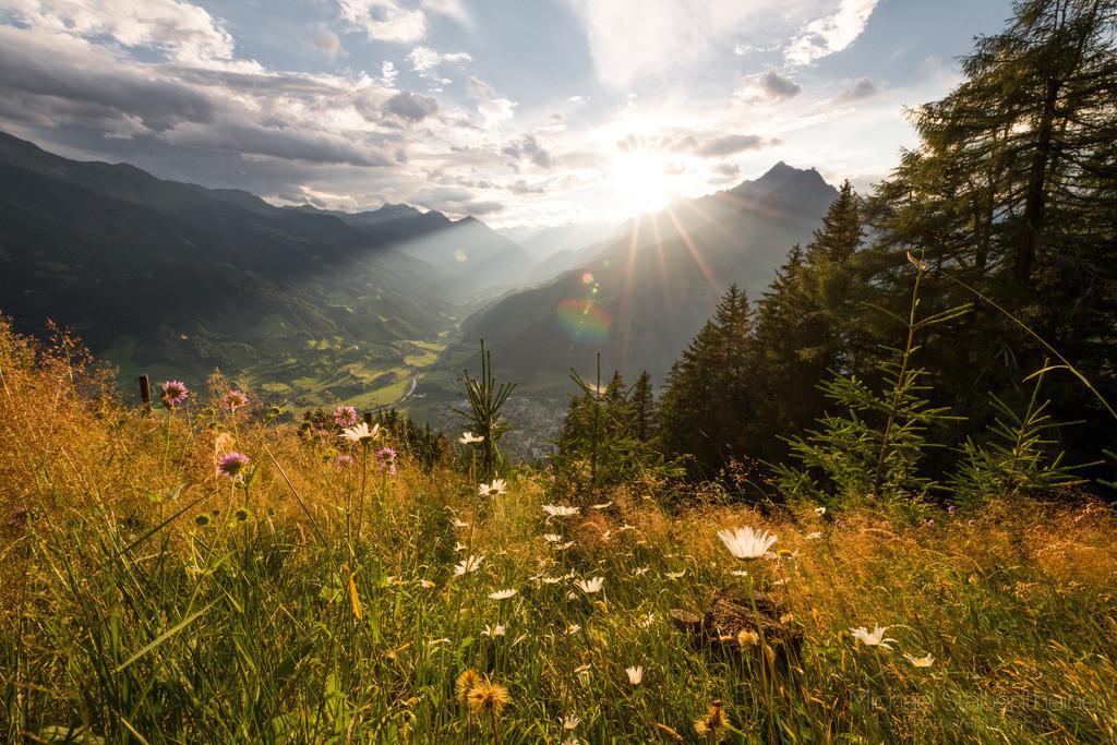 Sonnenuntergang in Osttirol | Sonnenuntergang oberhalb von Matrei