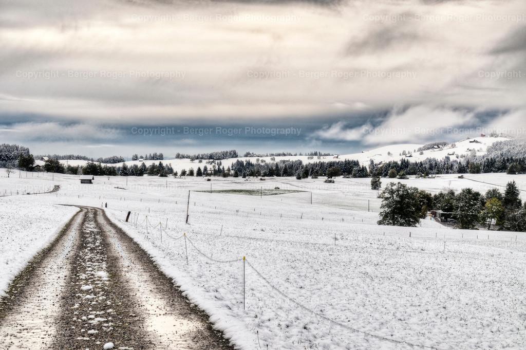 Winterwunderland Einsiedeln   Winterstimmung in Einsiedeln