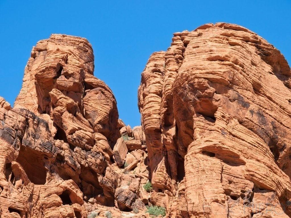 Felsformation | Sandsteinformation im Valley of Fire State Park, Nevada, USA