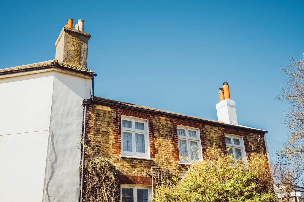 Brighton   britische Architektur, Fassade, Brighton, England