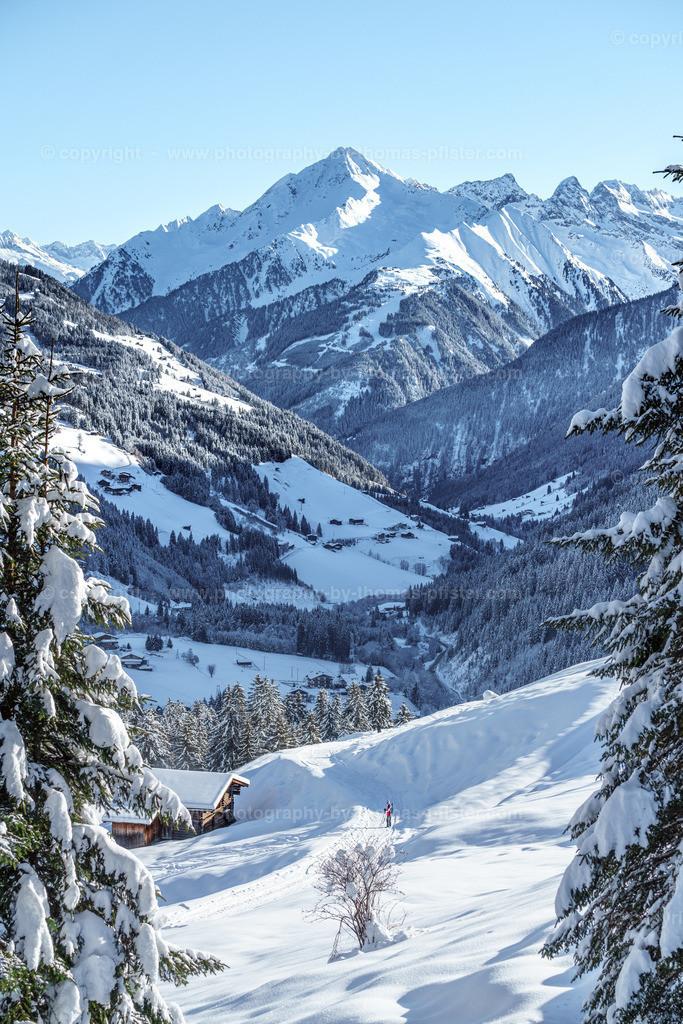 Winterwandern Richtung Lattenalm Gemais-9