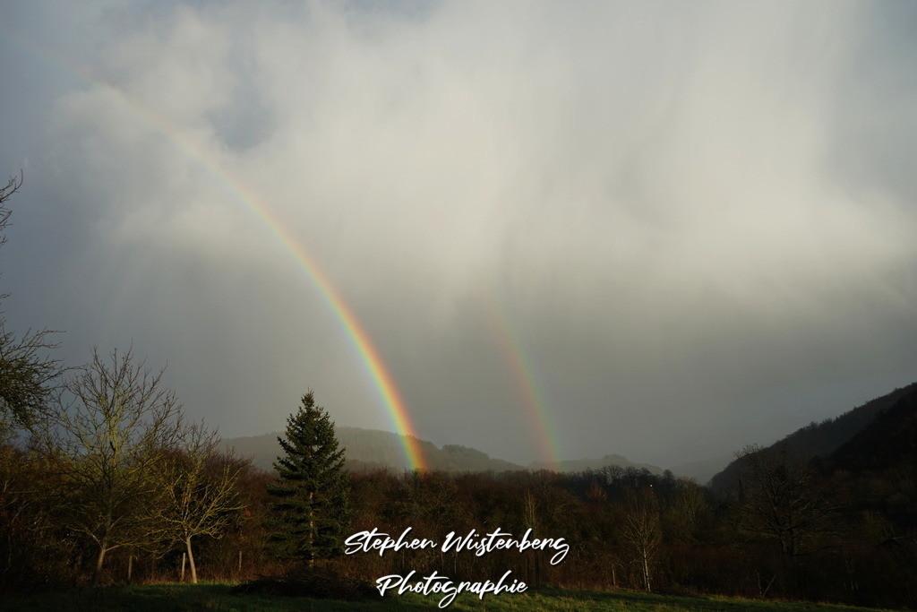 Rainbow Imsweiler | Doppelregenbogen über Imsweiler