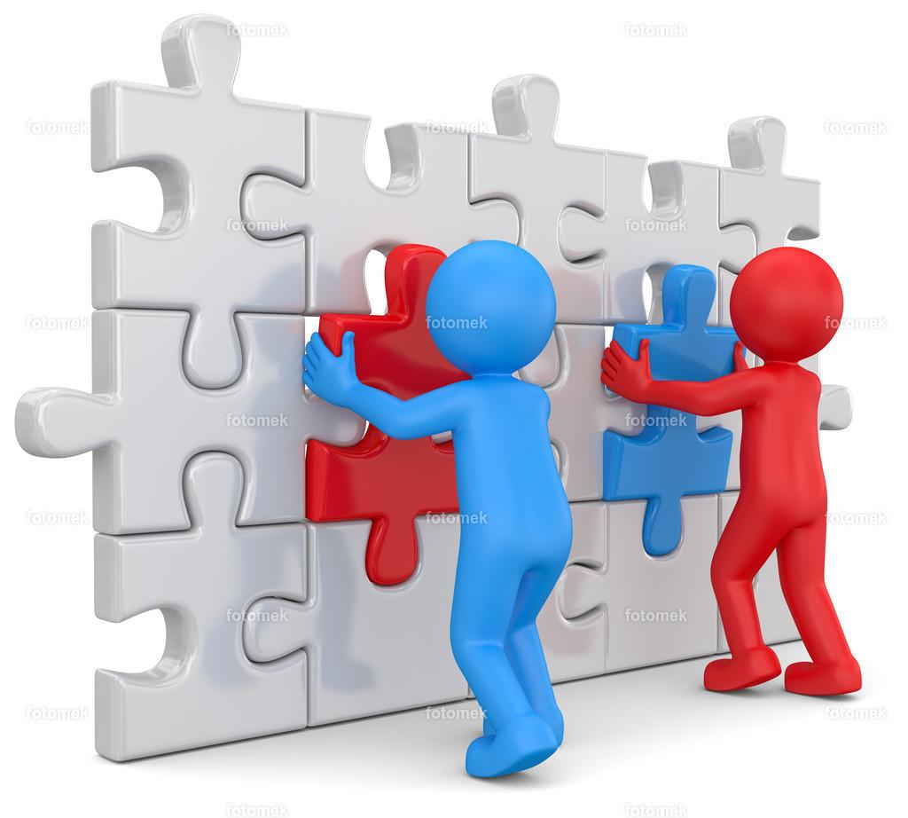Puzzlewand Partnerschaft