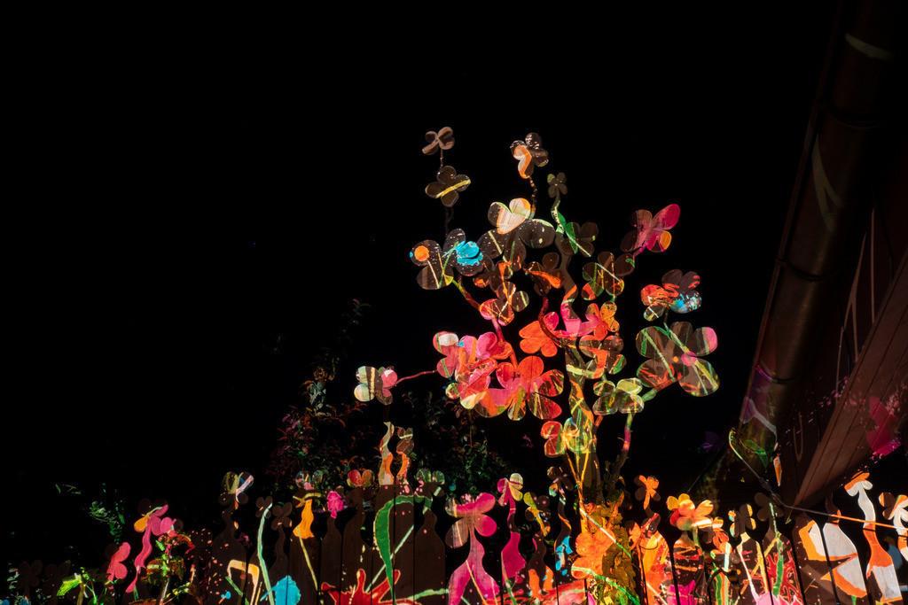 Bunter Abend 20 | Den Garten in ein Märchen verwandeln.Es bedarf nur  viele meiner Bilder, einen Photoapparat, 6 Projektoren, einen Kopf voll Ideen und einen Abend Zeit sie sichtbar zu machen. Diese Motive können sich auch zur Gestaltung von Postkarten, Einladungen oder Sprüchen eignen. - enjoy!