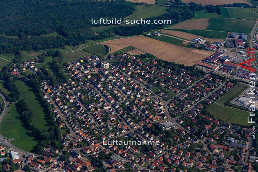 uffenheim-19-752 | aktuelles Luftbild von  Uffenheim - Luftaufnahme wurde 2019 von https://frankenair.de mittels Flugzeug (keine Drohne) erstellt.