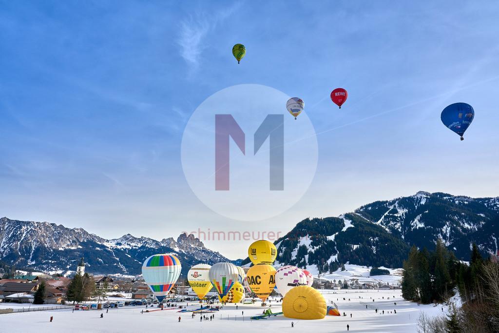 Ballonfestival 2020 Tannheimer Tal, Tirol, Österreich