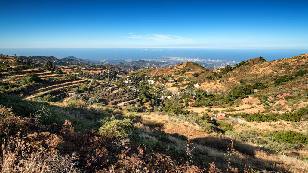Blick nach Las Palmas | Blick vom Inselinneren nach Las Palmas