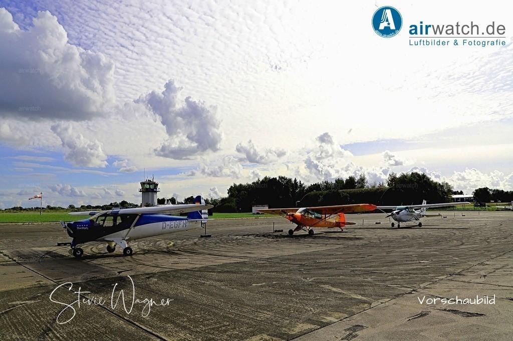 Flughafen Husum, Elster-B, Piper L 18, Cessna 172 | Flughafen Husum, Elster-B • max. 6240 x 4160 pix