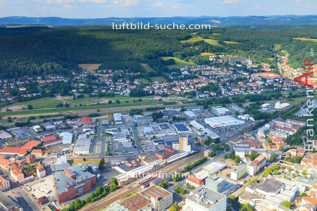 luftbild-kulmbach-2014-3093 | Luftbild von  Kulmbach - Luftaufnahme wurde 2014 von https://frankenair.de mittels Flugzeug (keine Drohne) erstellt - die Geschenkidee