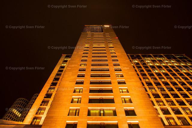 At night in Berlin | Hotel Waldorf Astoria Berlin at night