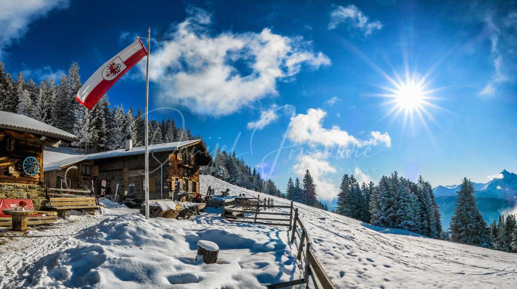 Patscher Alm | Die Patscher Alm im Winter