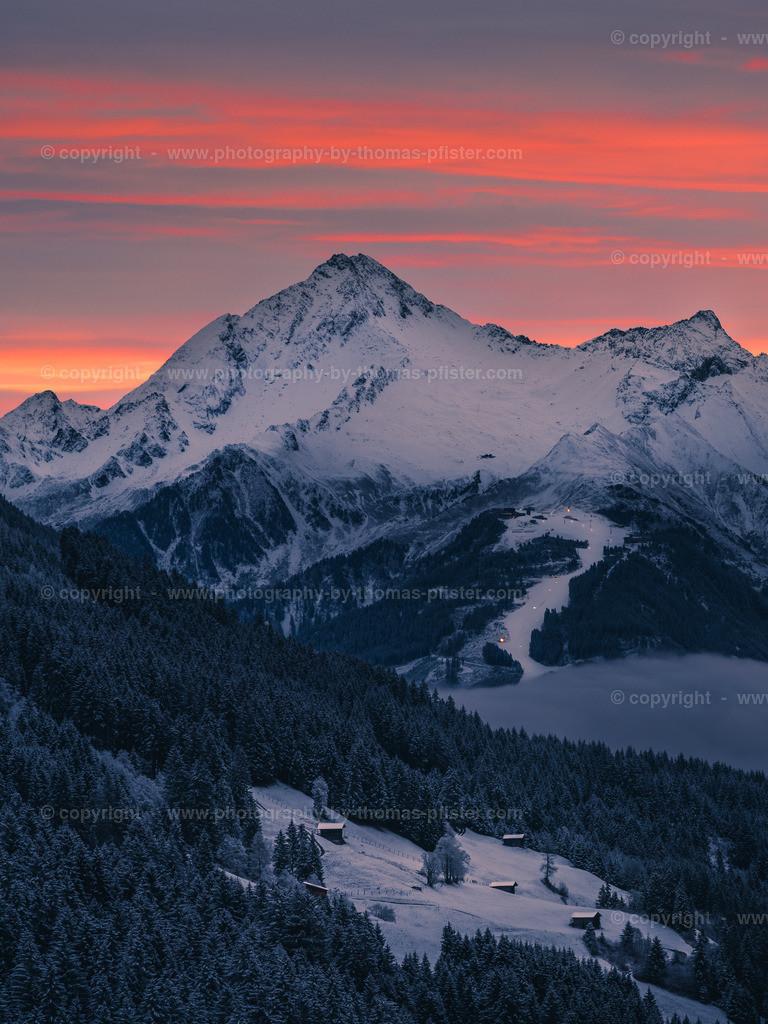 Ahornspitze am frühen Morgen Sonnenaufgang-1