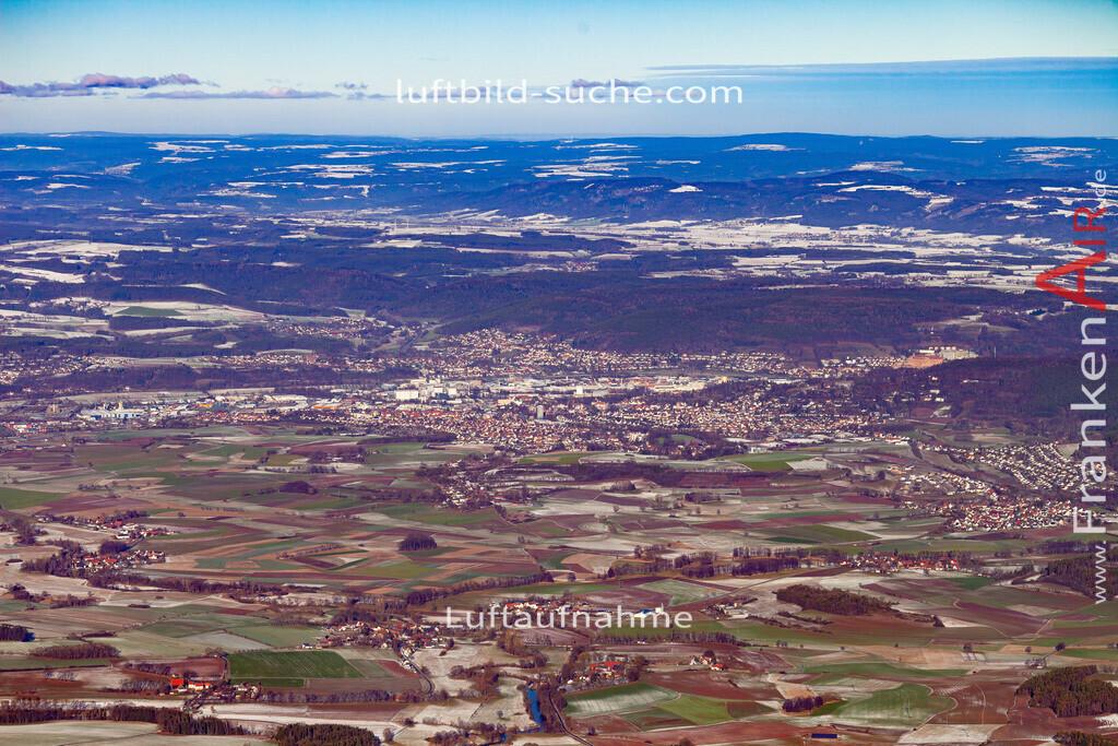kulmbach-19-149 | aktuelles Luftbild von  Kulmbach - Luftaufnahme wurde 2019 von https://frankenair.de mittels Flugzeug (keine Drohne) erstellt.