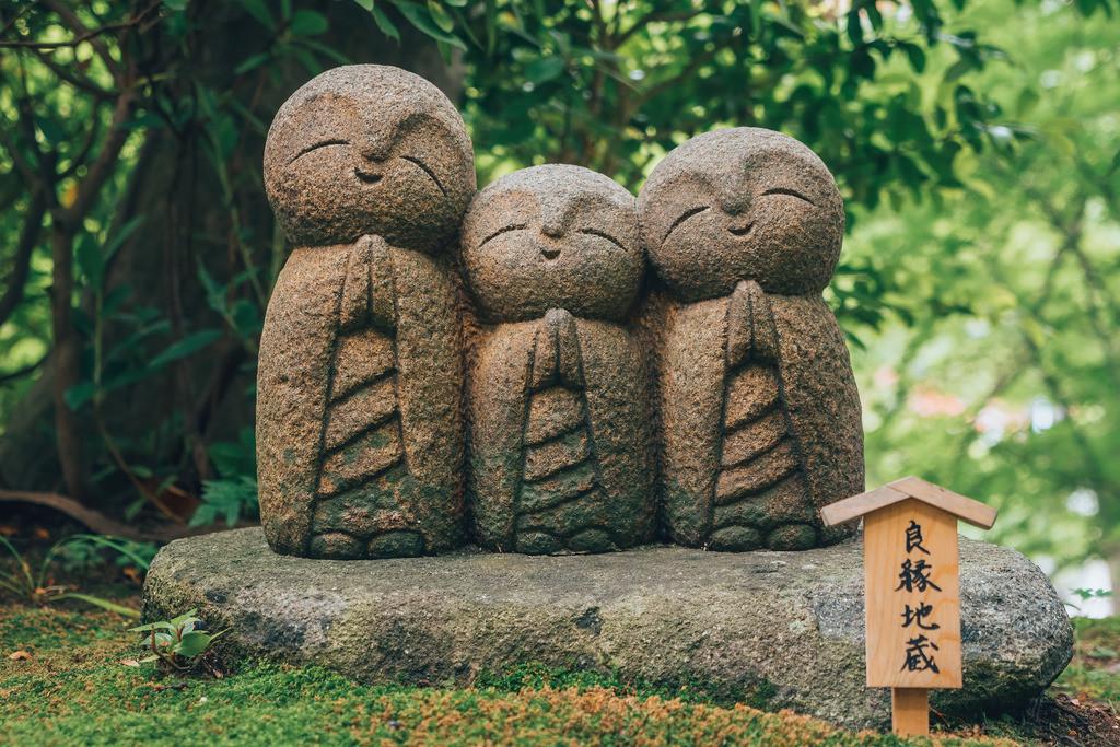 Japan Jizo Figuren Glücksbringer | Japan Jizo Figuren Glücksbringer