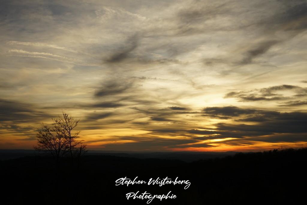 Sunset Donnersberg | Sonnenuntergang vom Donnersberg