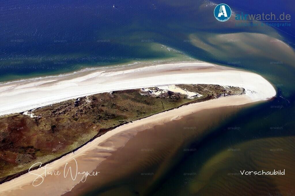 Luftbild, Nordsee, Amrum, Kniepsand, Nordspitze Amrum | Luftbild, Nordsee, Amrum, Kniepsand, Nordspitze Amrum -  digitale Luftbilder auf www.airwatch.de/Photogalerie