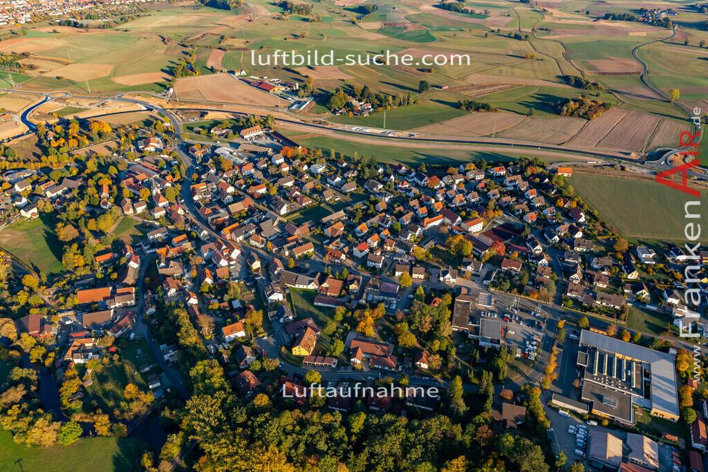 melkendorf-kulmbach-18-364 | aktuelles Luftbild von Melkendorf Kulmbach - Luftaufnahme wurde 2018 von https://frankenair.de mittels Flugzeug (keine Drohne) erstellt.