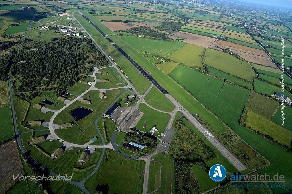 Luftbild Flughafen Husum, JABO G 41, LeKG 41, FlaRakG 1 | Flughafen Husum, Luftbild, Luftaufnahme, aerophoto, Luftbildfotografie, Luftbilder • max. 6240 x 4160 pix