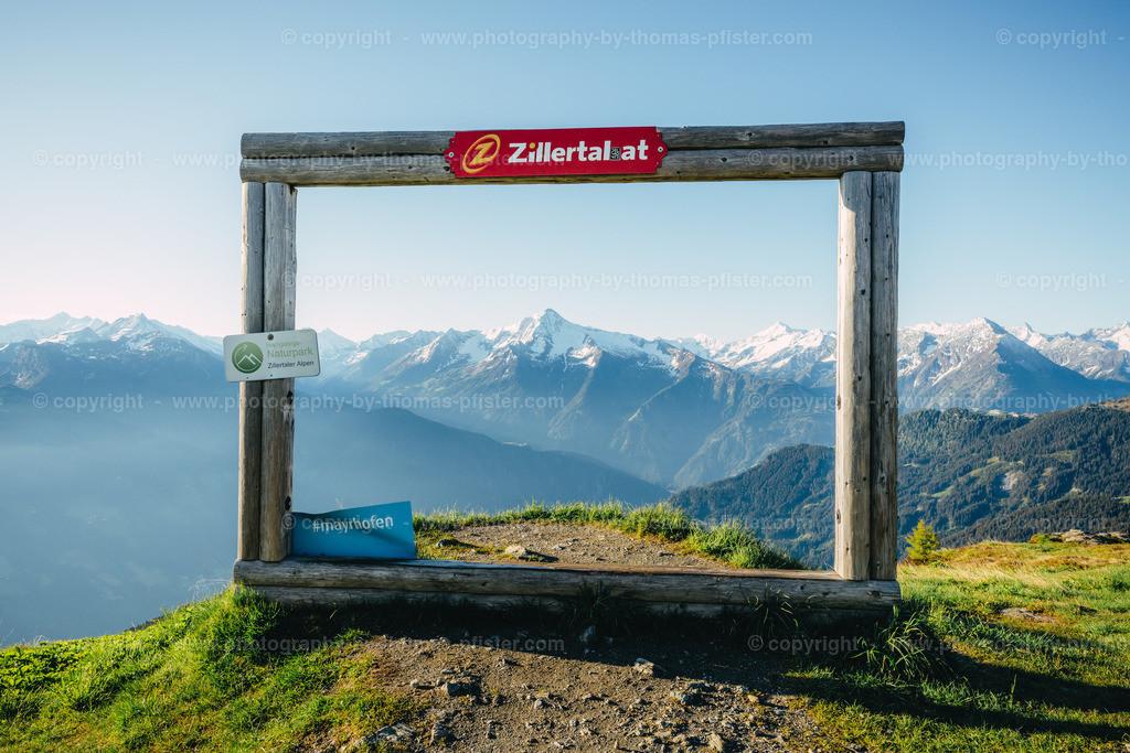 Zillertaler Höhenstrasse am Morgen-1