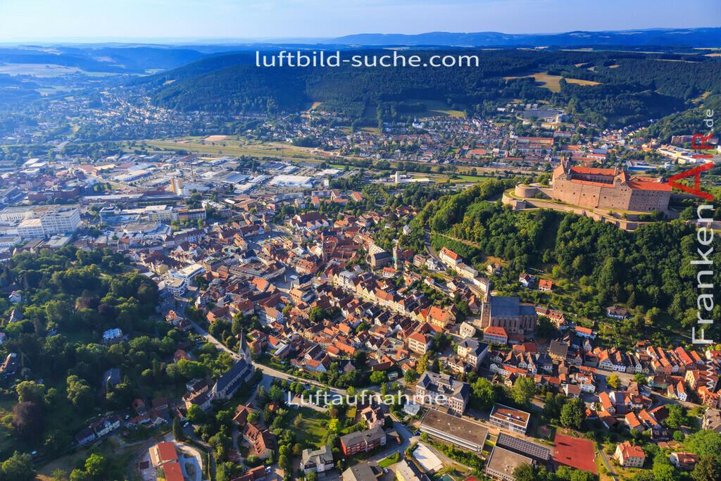 kulmbach-2015-1784 | Luftbild von  Kulmbach - Luftaufnahme wurde 2015 von https://frankenair.de mittels Flugzeug (keine Drohne) erstellt - die Geschenkidee
