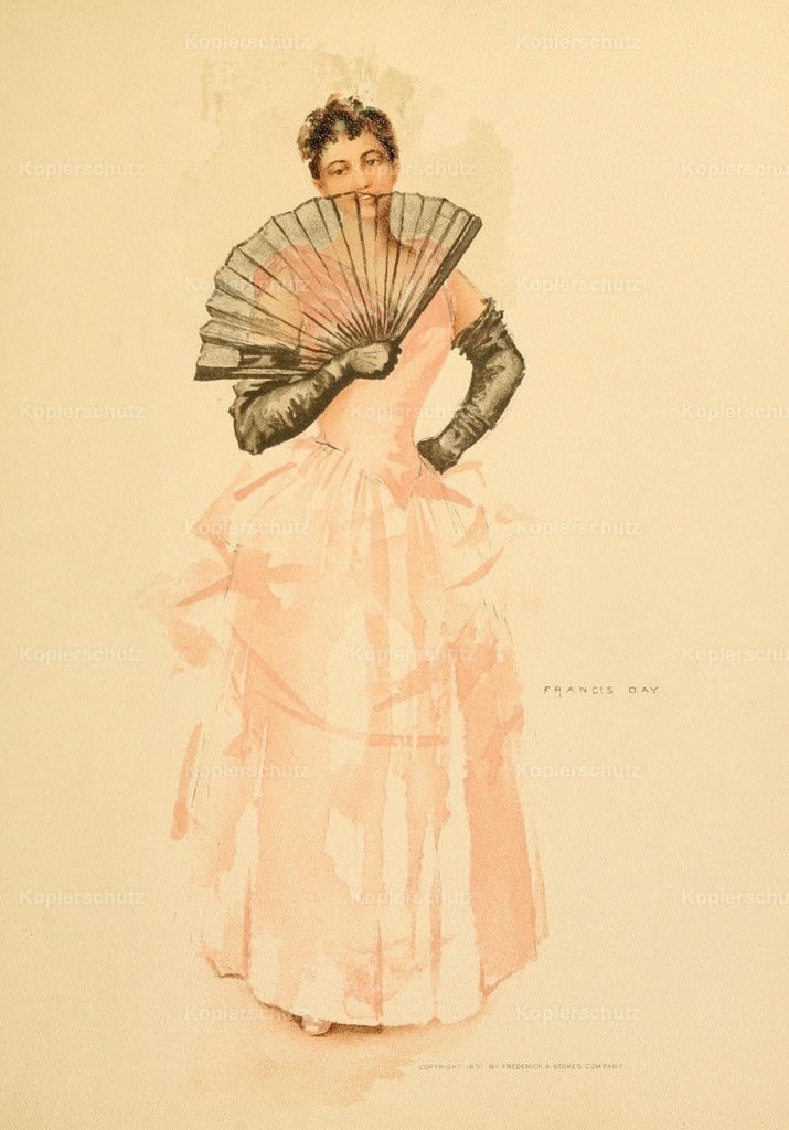 Day_ Francis (1863-1942) - Point Lace _ Diamonds 1891 - Flirting with fan