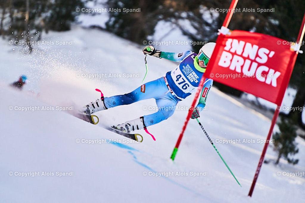 ALS6066_WWMG_GS-II_C | (C) FotoLois.com, Alois Spandl, WinterWorldMastersGames 2020 Innsbruck, Giant Slalom-II Gruppe C Damen, Patscherkofel Olympiaabfahrt, Mi 15. Jänner 2020.