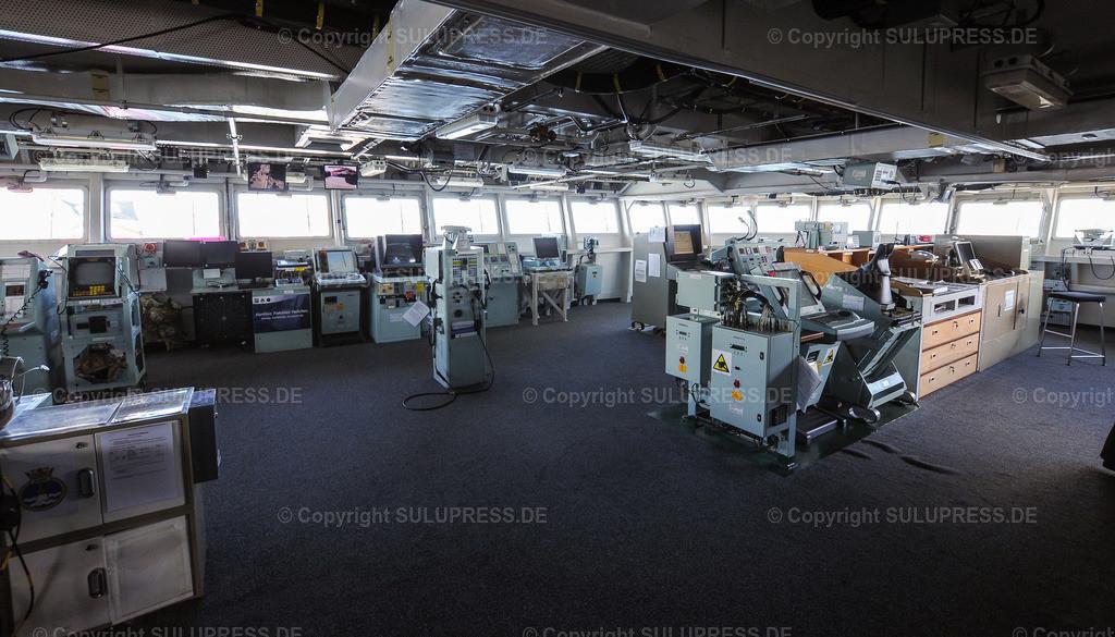 Brücke der HMS Albion   22.06.2019, HMS